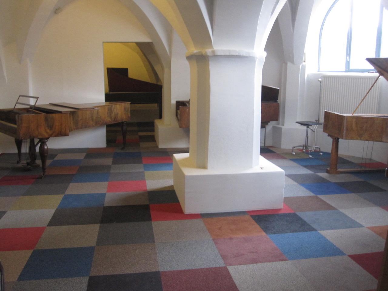 Posthoornkerk doorkijk