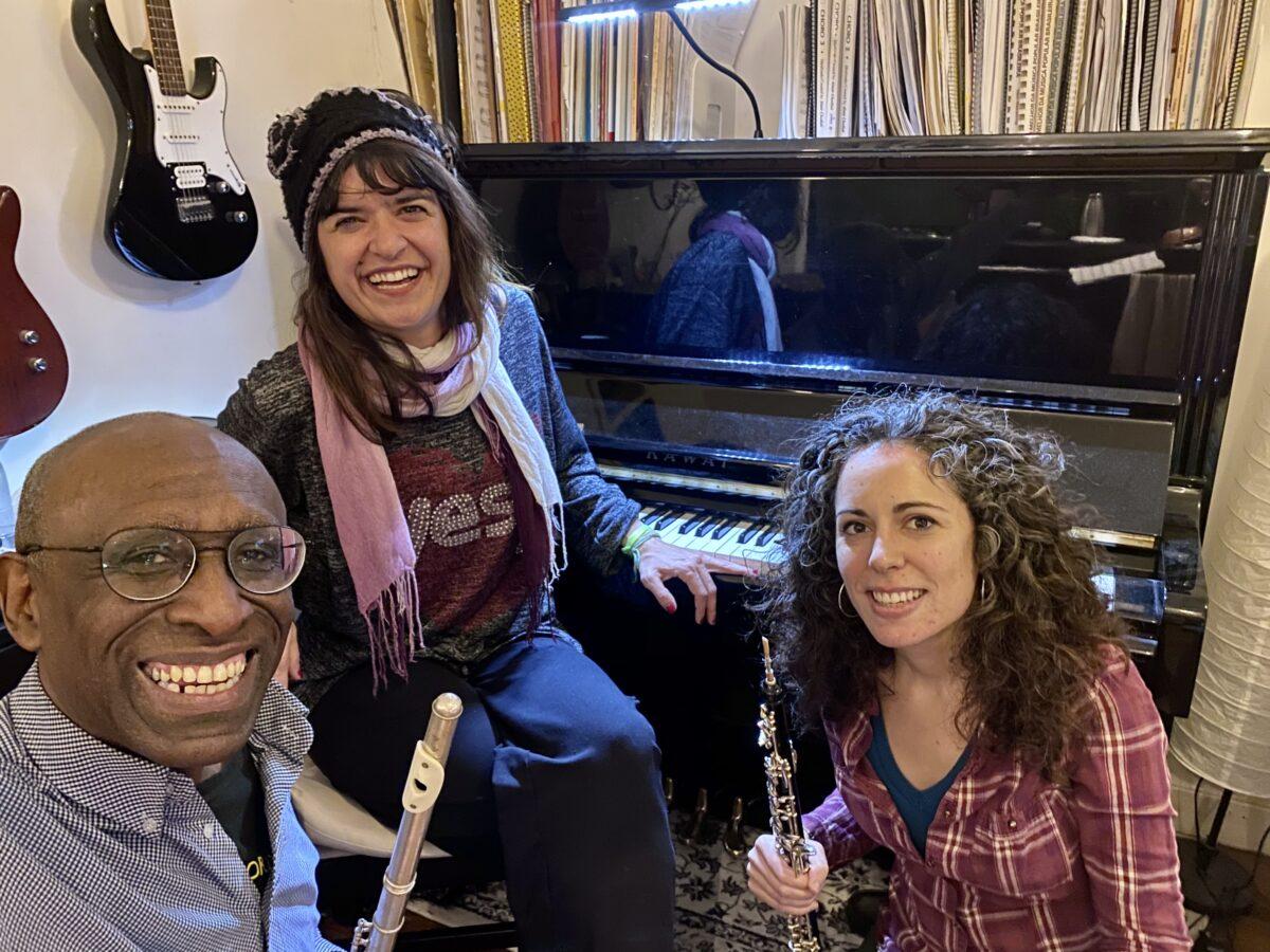 Ronald Snijders - fluit, Elizabeth Fadel - piano en Maripepa Contreras - hobo