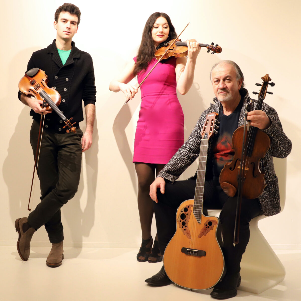 Trio Rusanovsky kleur bijgesneden